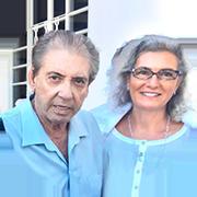 With John of God Abadiania, Brazil